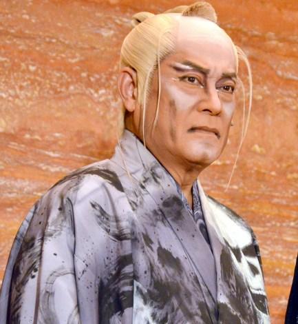 日本テレビ開局65年記念舞台『魔界転生』公開けいこ前囲み取材に出席した松平健 (C)ORICON NewS inc.