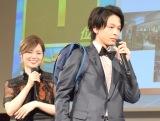 (左から)白石麻衣、中村倫也 (C)ORICON NewS inc.