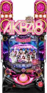 『ぱちんこ AKB48-3 誇りの丘』実機(C)AKS (C)KYORAKU