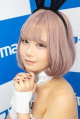 オリジナルのバニーガール衣装で魅了した、城夢サキョさん (C)oricon ME inc.