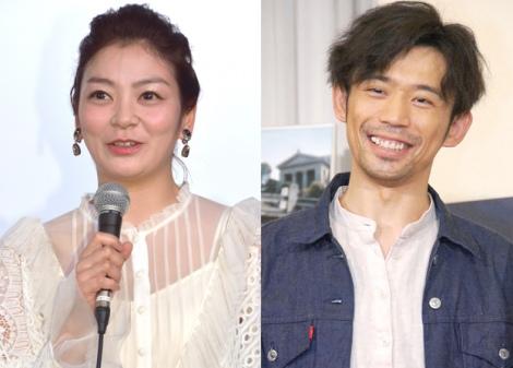 サムネイル 第1子出産を発表した田畑智子と夫の岡田義徳 (C)ORICON NewS inc.