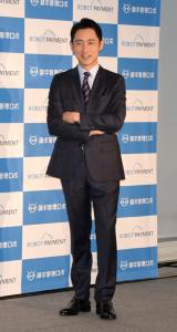 『ROBOT PAYMENT』の新CMキャラクター就任イベントに出席した小泉孝太郎 (C)ORICON NewS inc.