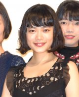 オムニバス映画『十年 Ten Years Japan』の初日舞台あいさつに出席した杉咲花 (C)ORICON NewS inc.