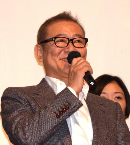 オムニバス映画『十年 Ten Years Japan』の初日舞台あいさつに出席した國村隼 (C)ORICON NewS inc.