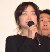 オムニバス映画『十年 Ten Years Japan』の初日舞台あいさつに出席した池脇千鶴 (C)ORICON NewS inc.