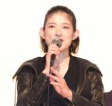 オムニバス映画『十年 Ten Years Japan』の初日舞台あいさつに出席した山田キヌヲ (C)ORICON NewS inc.