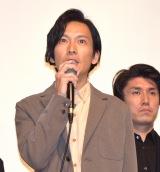 オムニバス映画『十年 Ten Years Japan』の初日舞台あいさつに出席した川口覚 (C)ORICON NewS inc.
