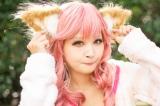 『Fate/EXTRA』玉藻の前の衣装で参加した、天音ありぃさん (C)oricon ME inc.