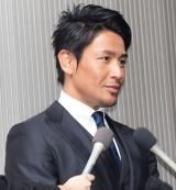 """山本""""KID""""徳郁さんお別れの会に参列した魔裟斗 (C)ORICON NewS inc."""