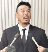 """山本""""KID""""徳郁さんお別れの会に参列した武蔵 (C)ORICON NewS inc."""