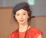 ミュージカル『TOP HAT』製作発表会見に出席した朝海ひかる (C)ORICON NewS inc.