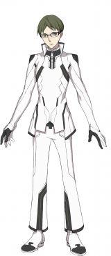 緑ヶ丘流星=アニメ『Dimensionハイスクール』キャラクタービジュアル (C)Dimensionハイスクール製作委員会