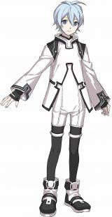 水上ゆりお=アニメ『Dimensionハイスクール』キャラクタービジュアル (C)Dimensionハイスクール製作委員会