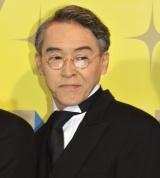 ミュージカル『TOP HAT』初日公演前囲み取材に出席した浅野和之 (C)ORICON NewS inc.