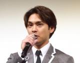 映画『夜明け』の完成披露舞台あいさつに出席した柳楽優弥 (C)ORICON NewS inc.