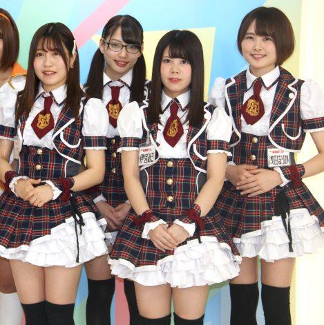TOKYO MX『MIRAI系 アイドルTV』の番組取材会に出席したバクステ外神田一丁目 (C)ORICON NewS inc.