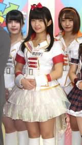 TOKYO MX『MIRAI系 アイドルTV』の番組取材会に出席したエラバレシ (C)ORICON NewS inc.
