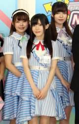 TOKYO MX『MIRAI系 アイドルTV』の番組取材会に出席したピュアリーモンスター (C)ORICON NewS inc.