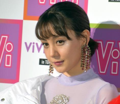 『ViVi Night in TOKYO 2018 HALLOWEEN PARTY』に出演したトリンドル玲奈 (C)ORICON NewS inc.