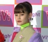 『ViVi Night in TOKYO 2018 HALLOWEEN PARTY』の開演前囲み取材に出席したemma (C)ORICON NewS inc.