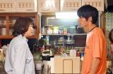 火曜ドラマ『中学聖日記』第5話(左から)夏川結衣、岡田健史 (C)TBS