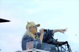 大阪の人たちと「みんなで踊ろう!! 東京五輪音頭-2020-」を楽しんだDJ KOO(Photo by Tokyo 2020)