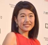 『第31回東京国際映画祭』オープニングイベントのレッドカーペットに登場した横澤夏子 (C)ORICON NewS inc.