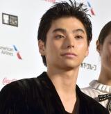 『第31回東京国際映画祭』オープニングイベントのレッドカーペットに登場した村上虹郎 (C)ORICON NewS inc.