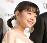 『第31回東京国際映画祭』オープニングイベントのレッドカーペットに登場した岸井ゆきの (C)ORICON NewS inc.
