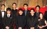 『第31回東京国際映画祭』オープニングイベントのレッドカーペットに登場した『jam』キャスト (C)ORICON NewS inc.
