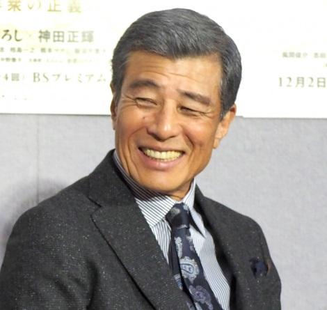NHK・BSプレミアムドラマ『クロスロード3 群衆の正義』試写会に出席した舘ひろし (C)ORICON NewS inc.