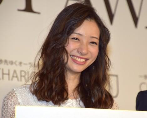 『BEST SHINIST AWARD 2018』授賞式 に出席した足立梨花 (C)ORICON NewS inc.