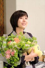 HTB北海道テレビの開局50周年ドラマ『チャンネルはそのまま!』(2019年3月放送)芳根京子がクランクアップ(C)HTB