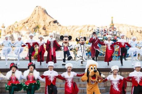 サムネイル 東京ディズニーシー「イッツ・クリスマスタイム!」(C)Disney