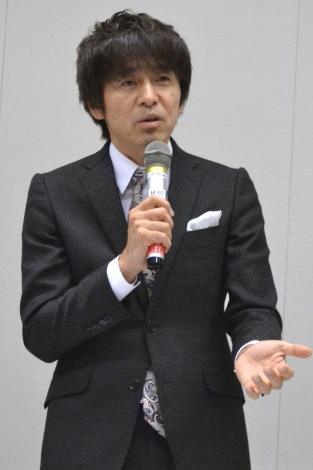 『チケット高額転売の現状と規制法案を語る』に出席した、日本2.5 次元ミュージカル協会代表理事の松田誠氏 (C)oricon ME inc.