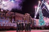 USJ「ユニバーサル・ワンダー・クリスマス」開幕セレモニーに出席した関ジャニ∞