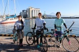 CS-TBS TBSチャンネル1のツーリングガイド番組『旅こぎ〜自転車女子の列島ツーリング東海道編』の模様