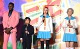 映画『ニセコイ』スペシャルステージに出席した偽キャストの方々 (C)ORICON NewS inc.