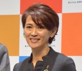 『Our Global Goals』記者発表会に出席した有森裕子 (C)ORICON NewS inc.
