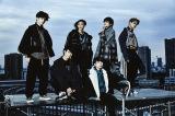 ツアー初日中止を発表したXOX(志村禎雄は左から2人目)