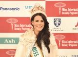 ミス・インターナショナル頂点にベネズエラ代表の20歳 マリエム・クラレット・ベラスコ・ガルシアさん
