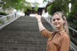11日放送の旅番組『じょんのび日本遺産』に出演するナタリーエモンズ