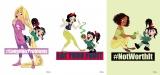 ディズニー・アニメーション映画『シュガー・ラッシュ:オンライン』(12月21日公開)ラプンツェル・セット(ラプンツェル/白雪姫/ティアナ)