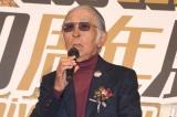 『ビッグコミック 50周年展』のオープニングセレモニーに出席した藤子不二雄A氏