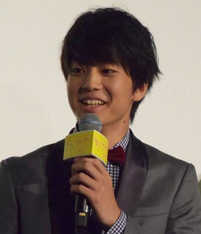 『ういらぶ。』公開記念舞台あいさつに登壇した伊藤健太郎 (C)ORICON NewS inc.
