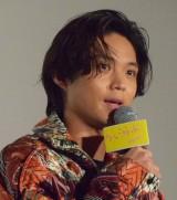 『ういらぶ。』公開記念舞台あいさつに登壇した磯村勇斗 (C)ORICON NewS inc.