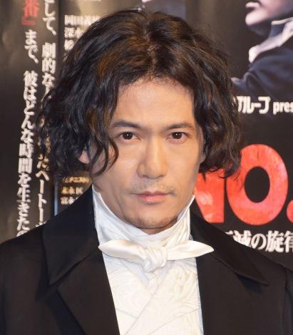 『No.9−不滅の旋律−』公開ゲネプロに登場した稲垣吾郎 (C)ORICON NewS inc.