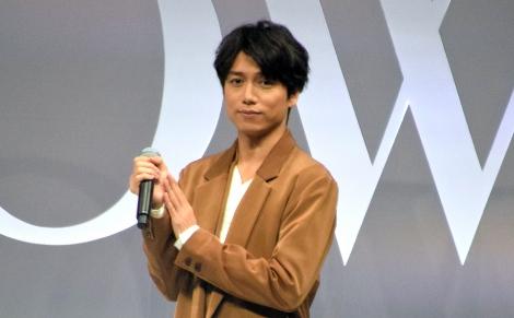 女性ファッション誌『GLOW』のイベントに出演した山崎育三郎 (C)ORICON NewS inc.