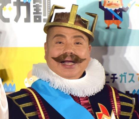 『ニチガス 新CM発表会』に出席した出川哲朗 (C)ORICON NewS inc.