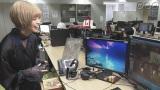 新作ゲームのクオリティの高さに驚嘆する最上もが=11月16日放送『かんさい熱視線』(C)NHK